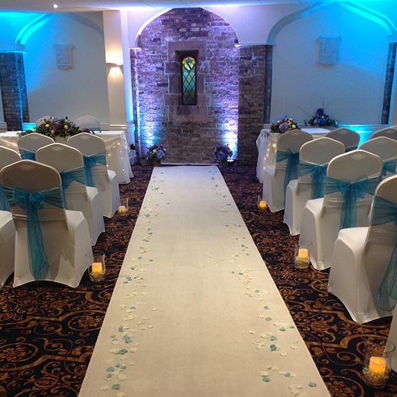 Wedding Styling - Creative Lighting