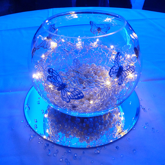 Illuminated Bubble Bowl