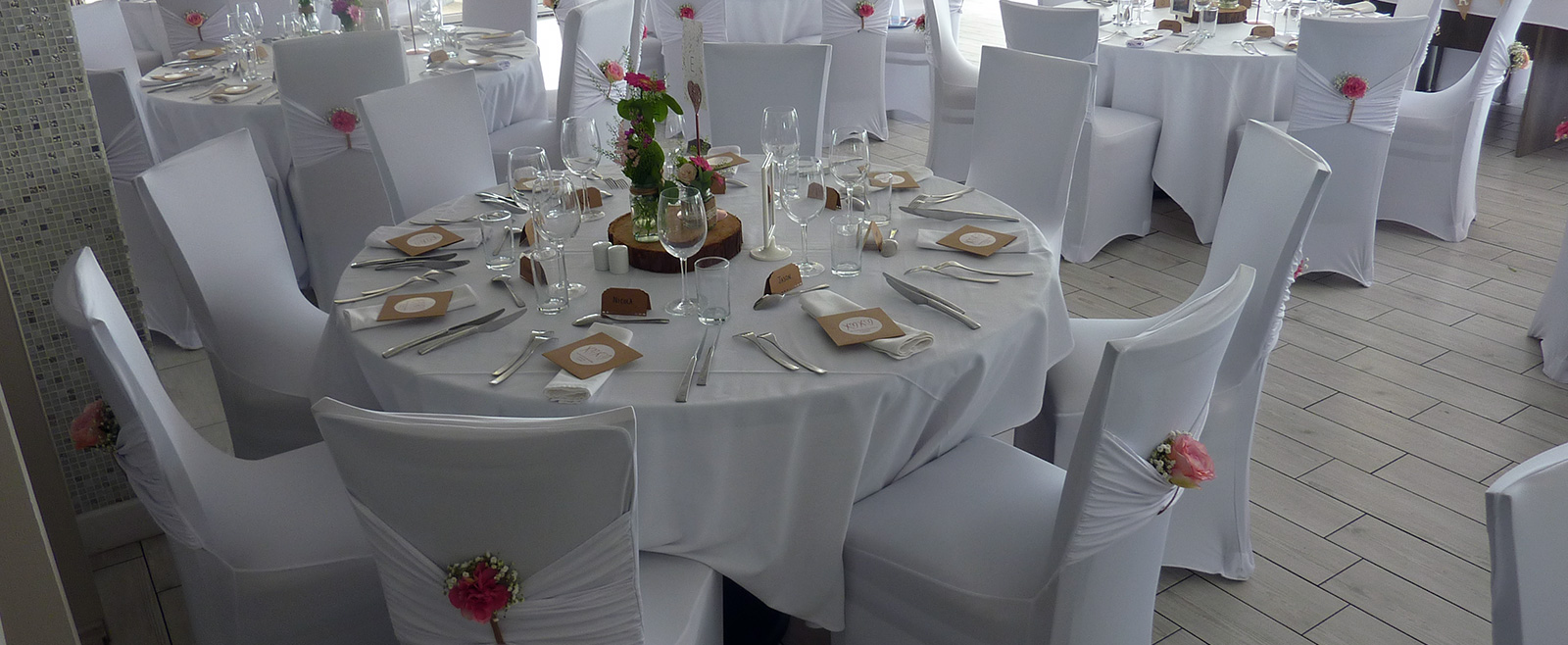 Wedding Styling - Chair Covers
