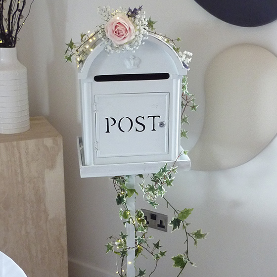 Post Box on Stand