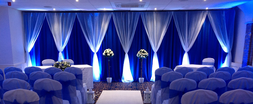 Wedding Venue Styling - Drapery & Backdrops