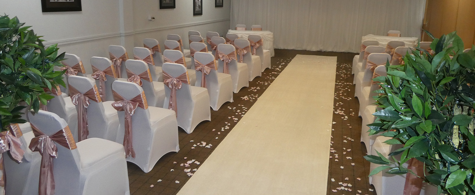 Wedding Venue Styling - Carpet Aisle Runners