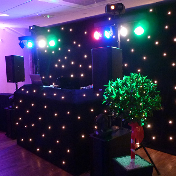 Evening Wedding Disco
